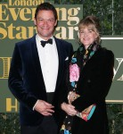 Dominic West and Catherine Fitzgerald at..........
