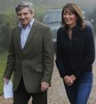 Michael Middleton and Carole Middleton