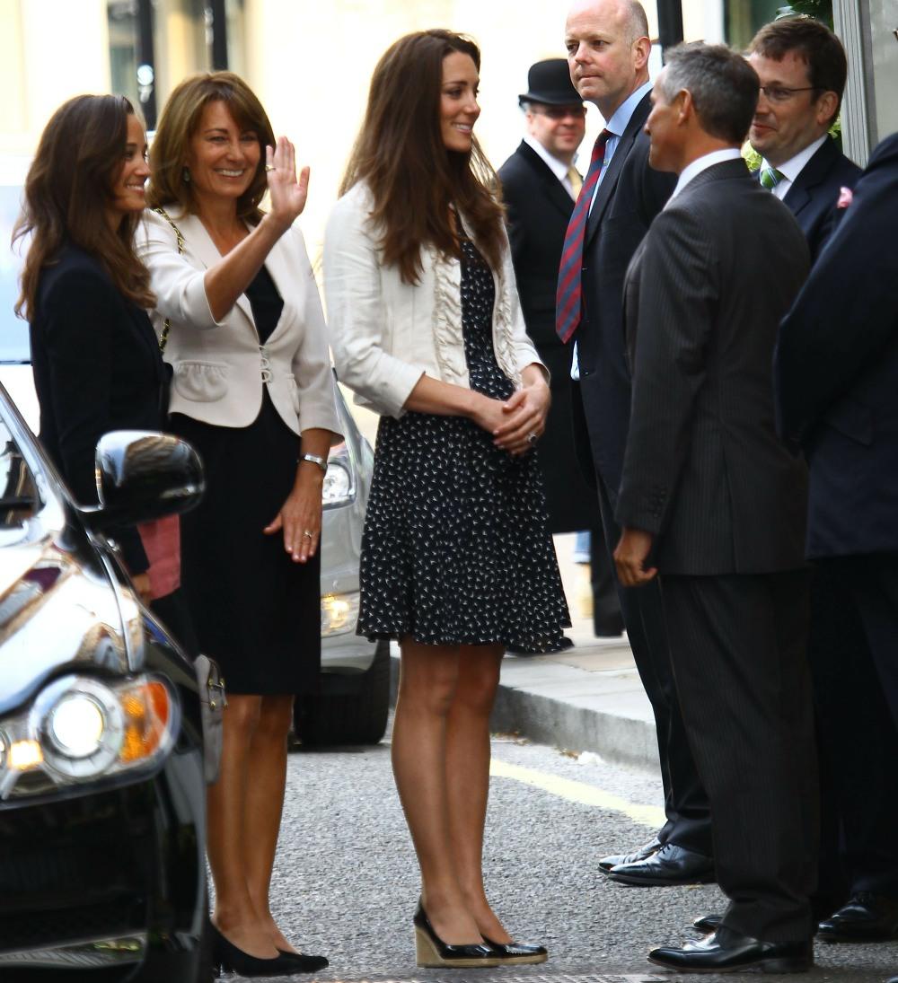 Pippa Middleton, Carole Middleton, Kate Middleton
