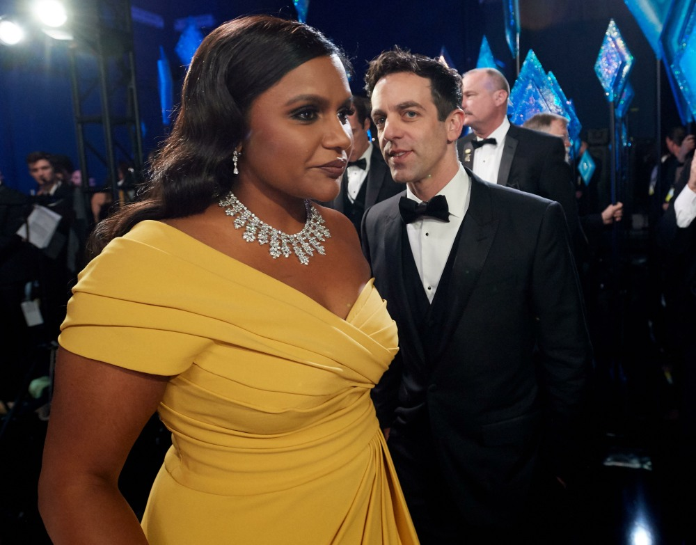 Mindy Kaling backstage during the live ABC Telecast of The 92nd Oscars® at the Dolby® Theatre in H...