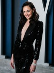 Gal Gadot arrives at the 2020 Vanity Fair Oscar Party held at the Wallis Annenberg Center for the Pe...
