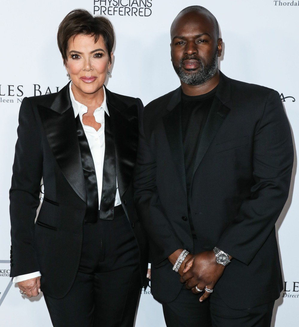 Television personality Kris Jenner and boyfriend Corey Gamble arrive at the Los Angeles Ballet Gala...