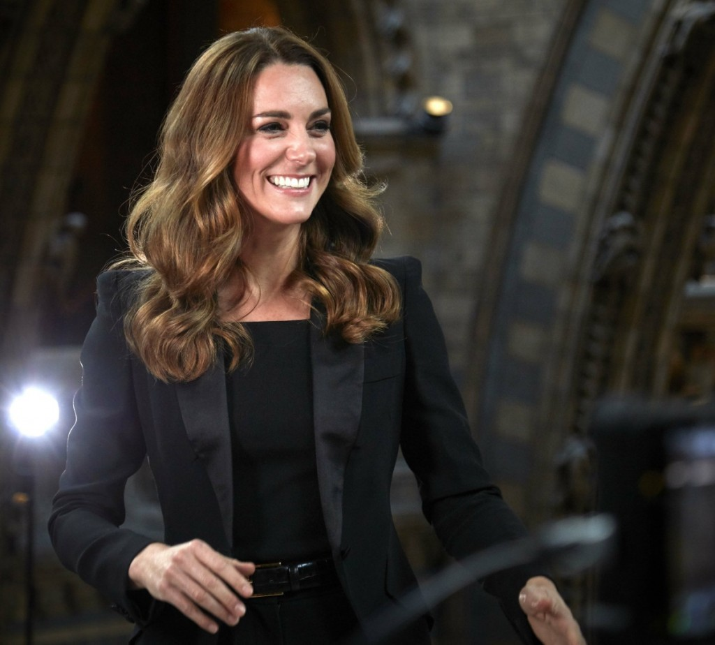 Catherine, Duchess of Cambridge, announces the Grand Title winner of this year's Wildlife Photographer of the Year