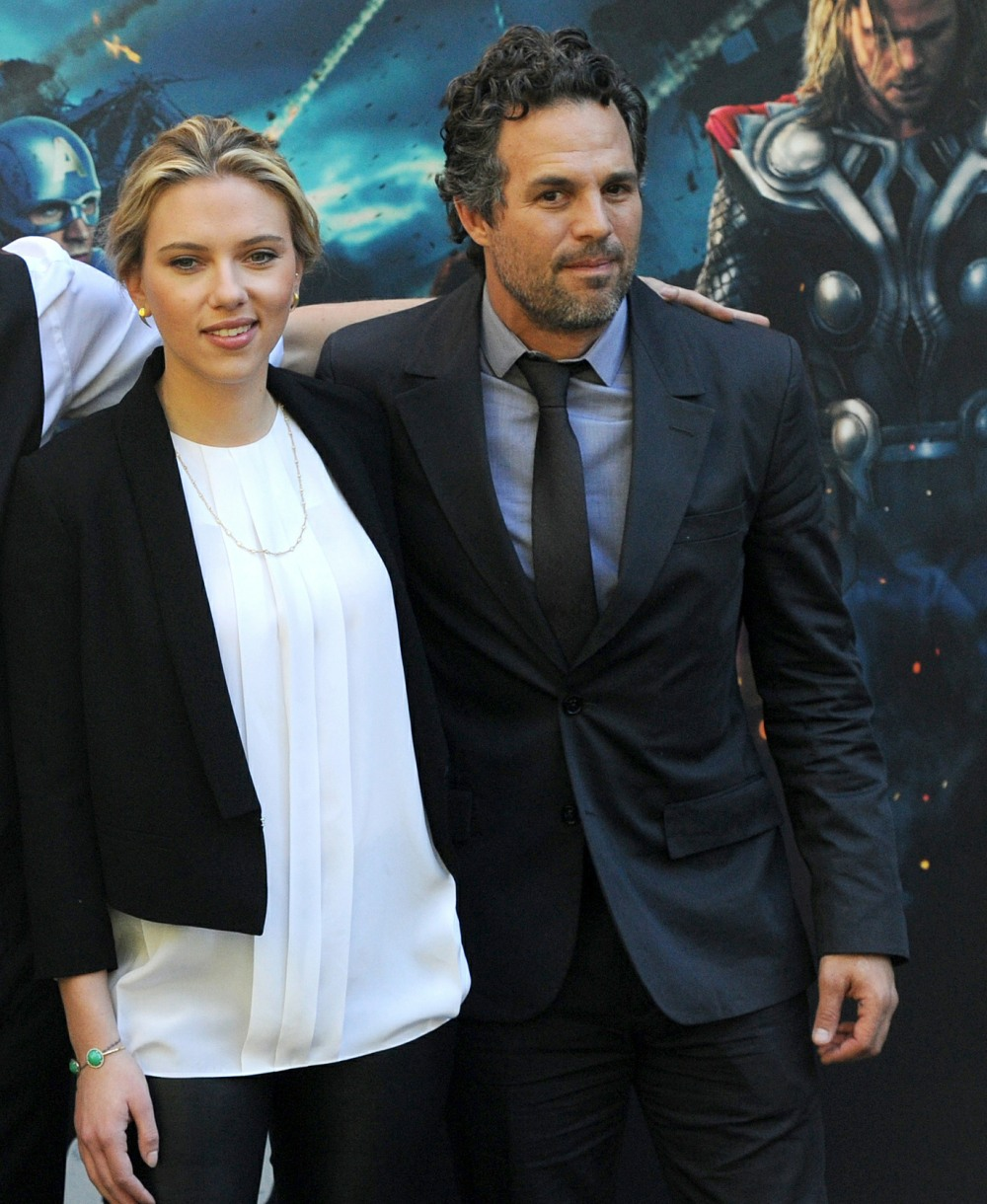 Photocall of the film 'The Avengers' in Rome.