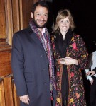 Dominic West and wife Catherine Fitzgerald