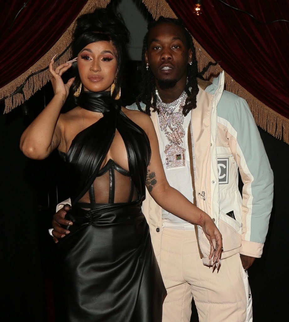 Offset Celebrates his Birthday with celebrity friends and fans in DTLA