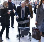 Harvey Weinstein at Manhattan Criminal Court in New York City