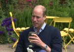 Duke of Cambridge enjoys the first pint ahead of pub reopening