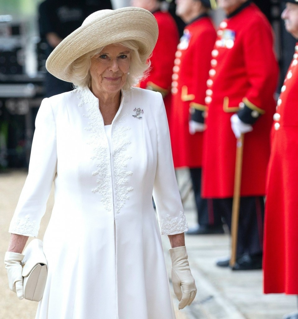 The Duchess of Cornwall visits the Royal Hospital