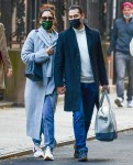 Picture Perfect: Love birds Katie Holmes and Emilio Vitolo hold hands in Soho, NYC