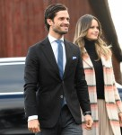 Prince Carl Philip and Princess Sofia visit Kulinarika at Aplungen