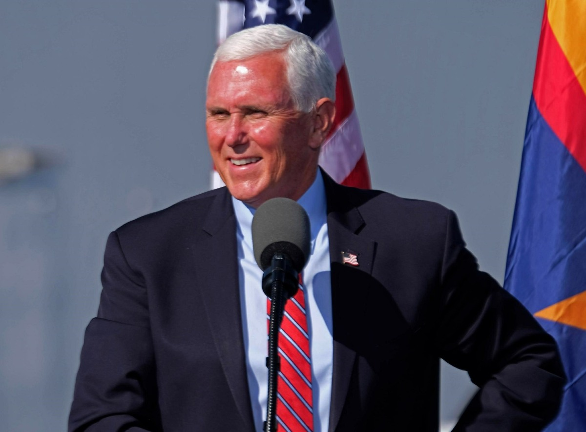 Vice President Mike Pence campaigns in Arizona