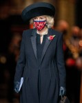 The Prince of Wales and The Duchess of Cornwall Attend An Armistice Day Service At Westminster Abbey