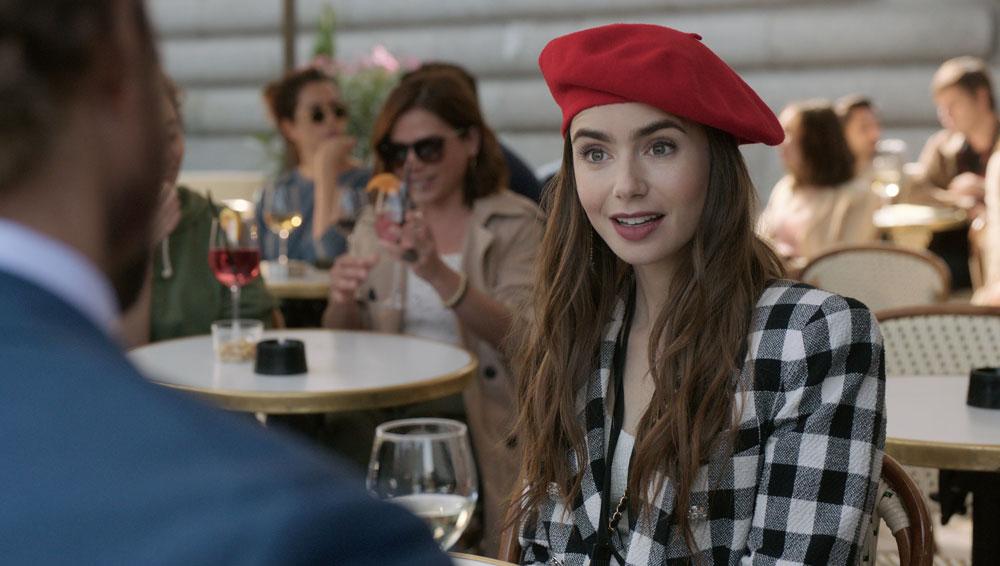 Emily in Paris still credit Stephanie Branchu/Netflix