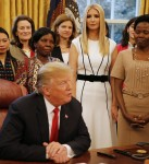 "Trump signs the ""Women's Global Development and Prosperity"" Initiative"