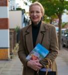 Cheltenham Gloucestershire.Cheltenham Literature Festival....HRH Princess Michael of Kent launches her new book A Cheetahs Tale.