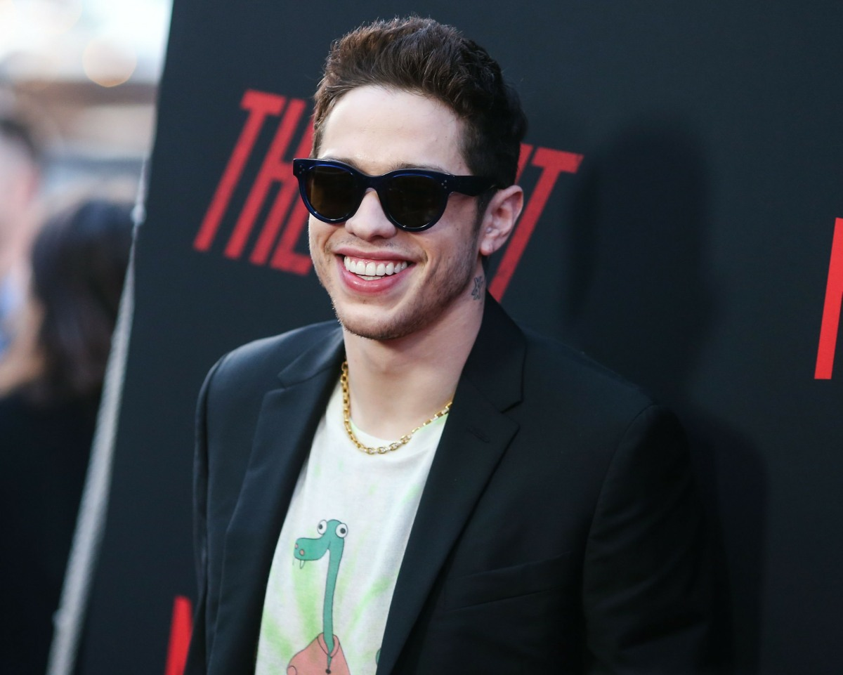 Comedian Pete Davidson arrives at the Los Angeles Premiere Of Netflix's 'The Dirt' held at ArcLight Cinemas Hollywood on March 18, 2019 in Hollywood, Los Angeles, California, United States. (Photo by Xavier Collin/Image Press Agency)