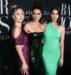 Delilah Belle Hamlin, Lisa Rinna and Amelia Gray Hamlin arrive at the 2019 Harper's BAZAAR Celebration of 'ICONS By Carine Roitfeld' held at The Plaza Hotel on September 6, 2019 in Manhattan, New York City, New York, United States.