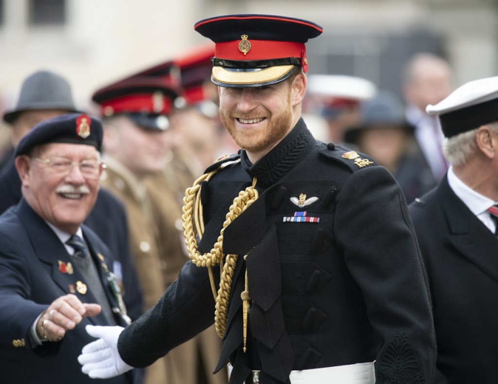 Mcc0092366The Duke and Duchess of Sussex attend the 91st Field of Remembrance at Westminster Abbey, meeting veterans