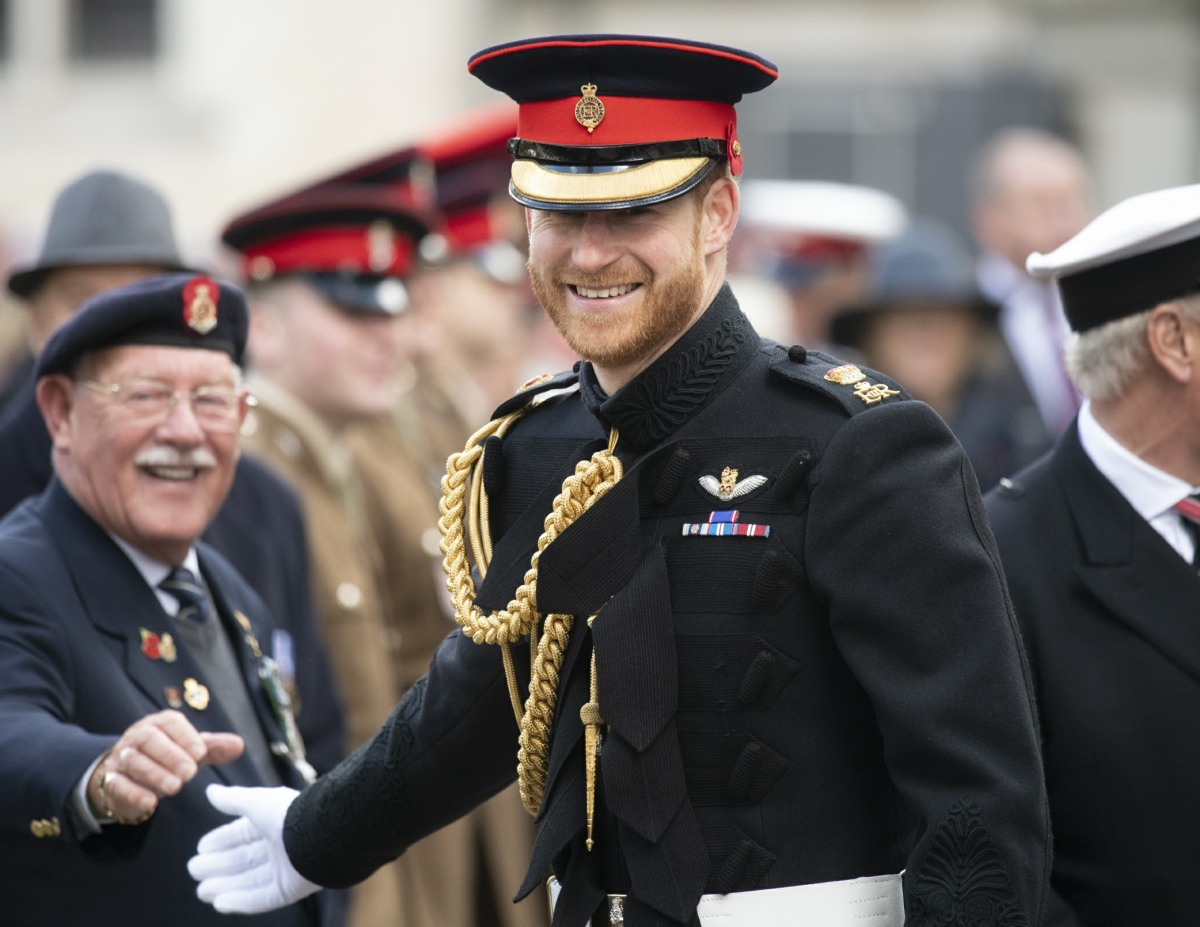 Mcc0092366 The Duke and Duchess of Sussex attend the 91st Field of Remembrance at Westminster Abbey, meeting veterans