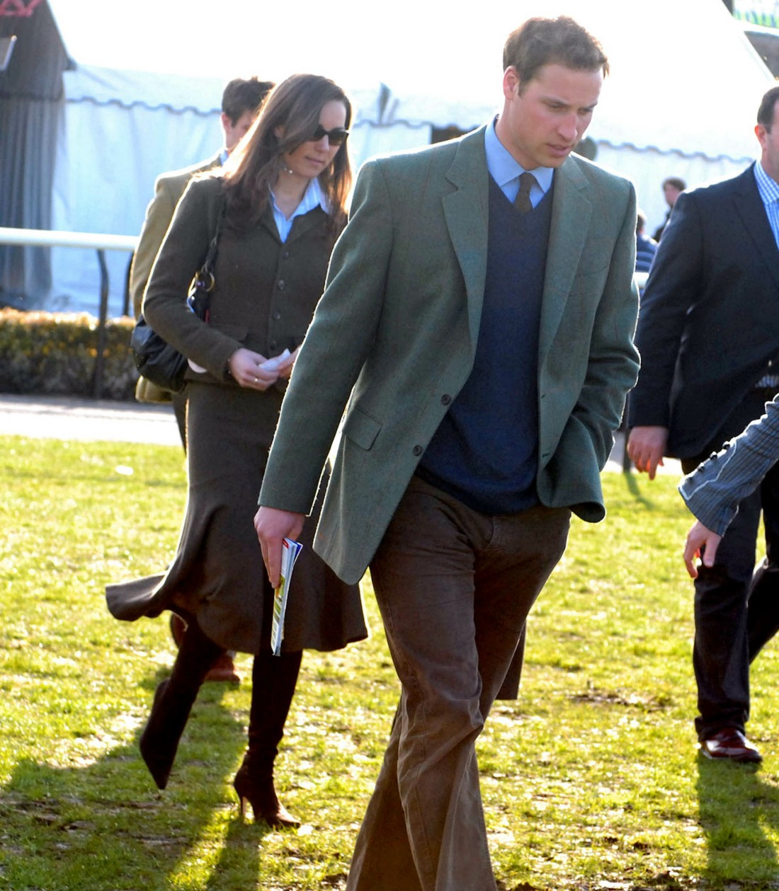 HRH Prince William and Kate Middleton  at the Cheltenham Gold Cup Festival 2007 Day 1 , 13th March 2007