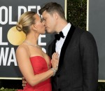 Scarlett Johansson and Colin Jost attend the 77th Annual Golden Globe Awards, Golden Globes, at Hotel Beverly Hilton in Beverly Hills, Los Angeles, USA, on 05 January 2020. | usage worldwide