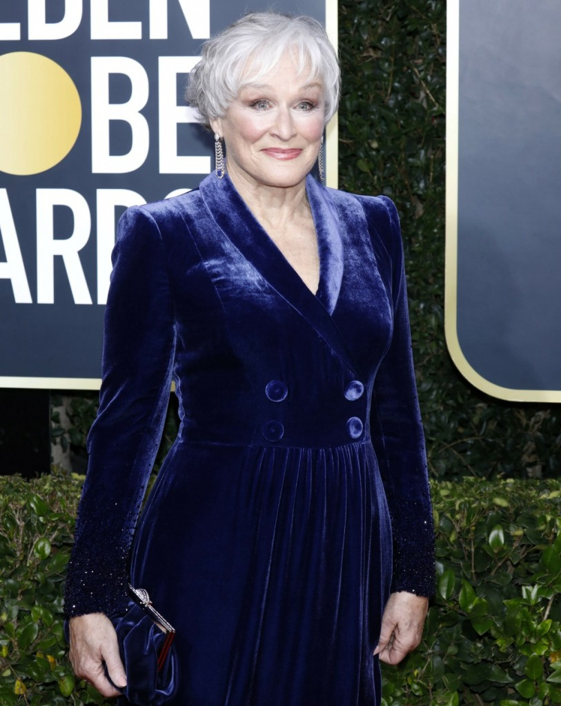Glenn Close attending the 77th Annual Golden Globe Awards at The Beverly Hilton Hotel on January 5, 2020 in Beverly Hills, California. | usage worldwide
