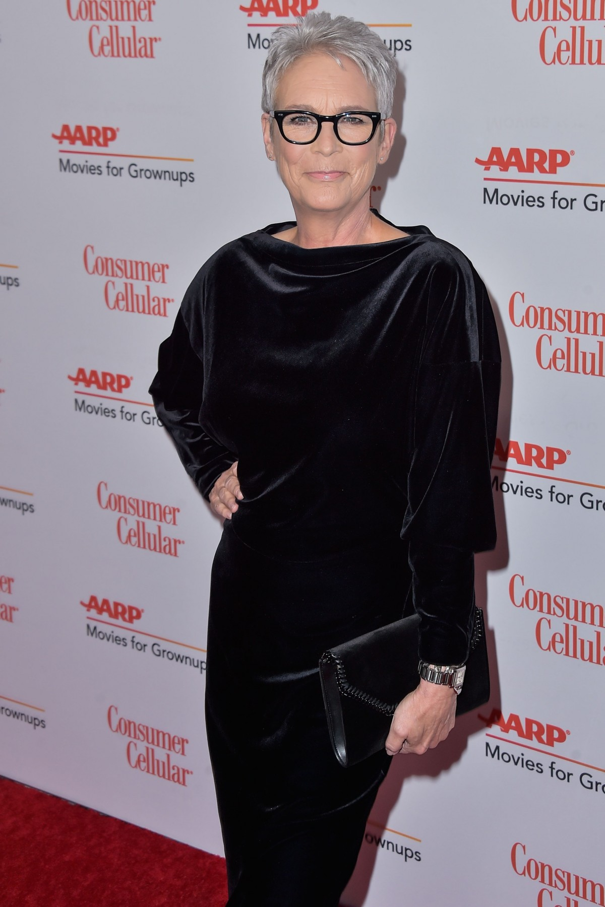 Jamie Lee Curtis arrives at AARP The Magazine's 19th Annual Movies For Grownups Awards held at The Beverly Wilshire Four Seasons Hotel on January 11, 2020 in Beverly Hills, Los Angeles, California, United States. (Photo by Image Press Agency)