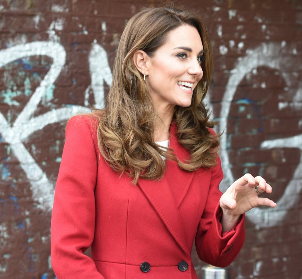 Catherine, Duchess of Cambridge, and Prince William, Duke of Cambridge, visit the launch of the Hold Still campaign at Waterloo Station