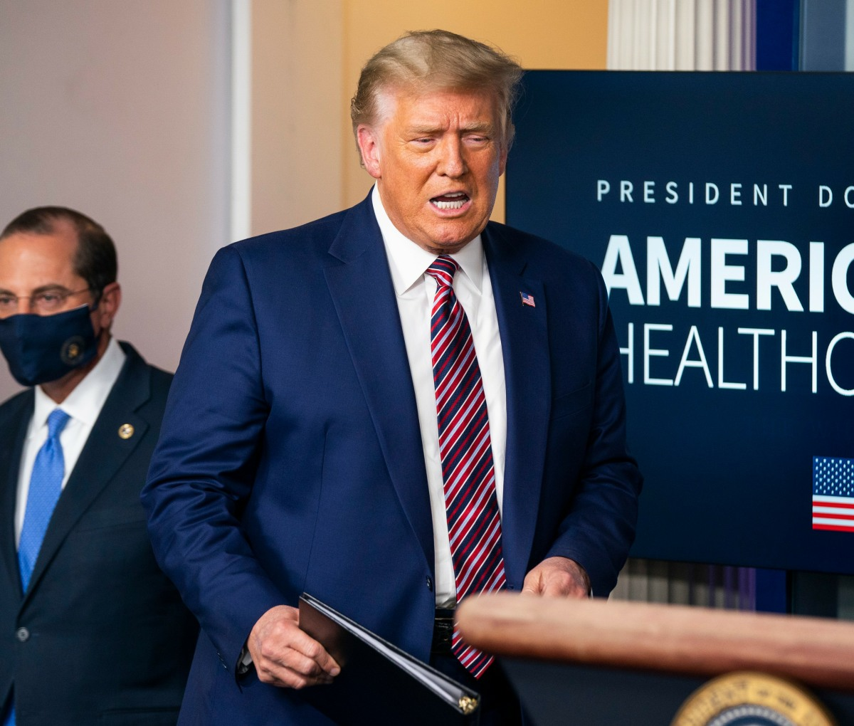 Trump speaks on prescription prices from the White House