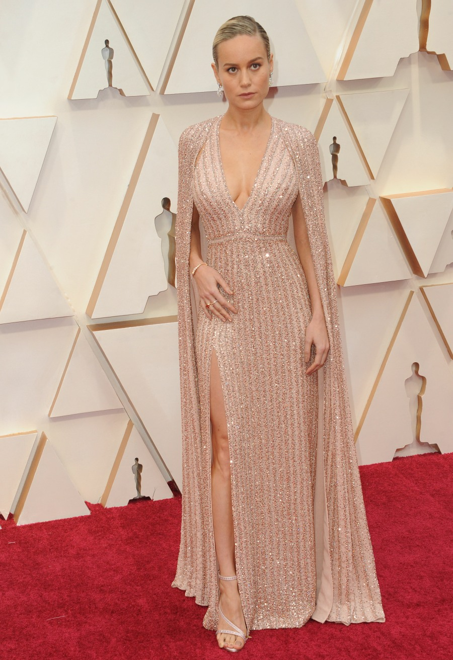Brie Larson attends The 92nd Annual Academy Awards - Arrivals in Los Angeles
