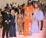 Corey Gamble, Kris Jenner, Kanye West, K...