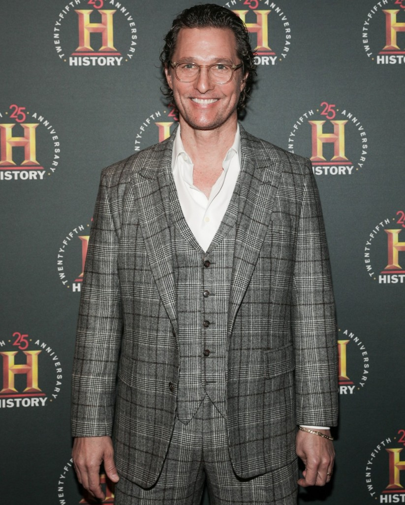 Matthew McConaughey in attendance for A+...