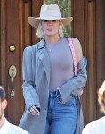 Khloe Kardashian arrives in style for Sunday Services at Kanye West's church