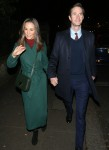 Pippa Middleton and James Matthews leave annual service at St Luke's Church in London