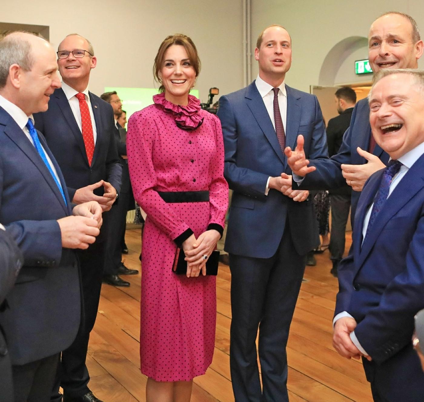Duke and Duchess of Cambridge visit Ireland, Dublin
