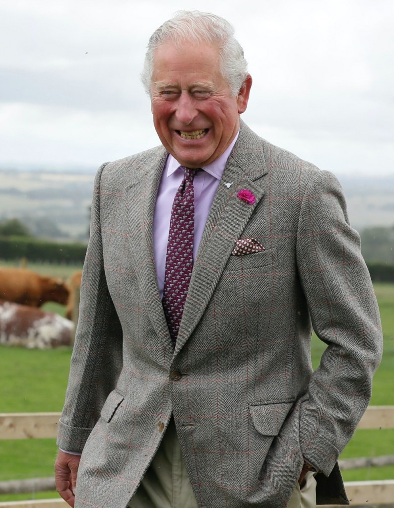 Prince Charles visits Cotswold Farm Park