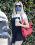Emma Roberts out shopping for new magazines