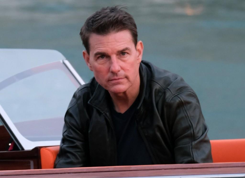Tom Cruise and Rebecca Ferguson are seen filming the last scenes of MI7 in Venice!