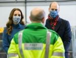 The Duke and Duchess of Cambridge visit the Scottish Ambulance Service