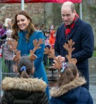 The Duke and Duchess of Cambridge visit Holy Trinity Church of England First School