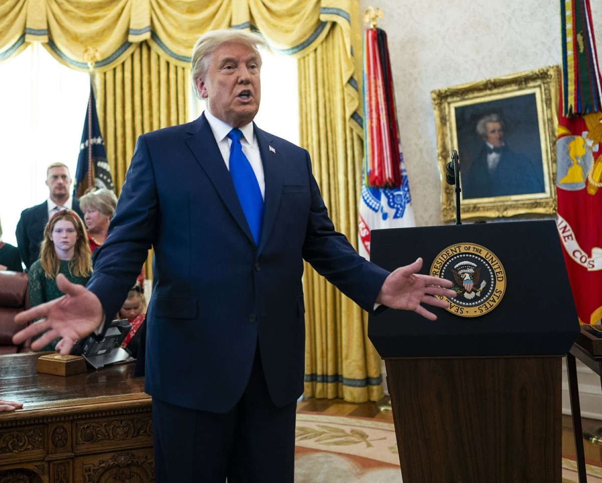Trump Presents the Medal of Freedom to Dan Gable