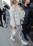 Jennifer Lopez arrives at SIR Studio for her New Year's Eve performance rehearsal