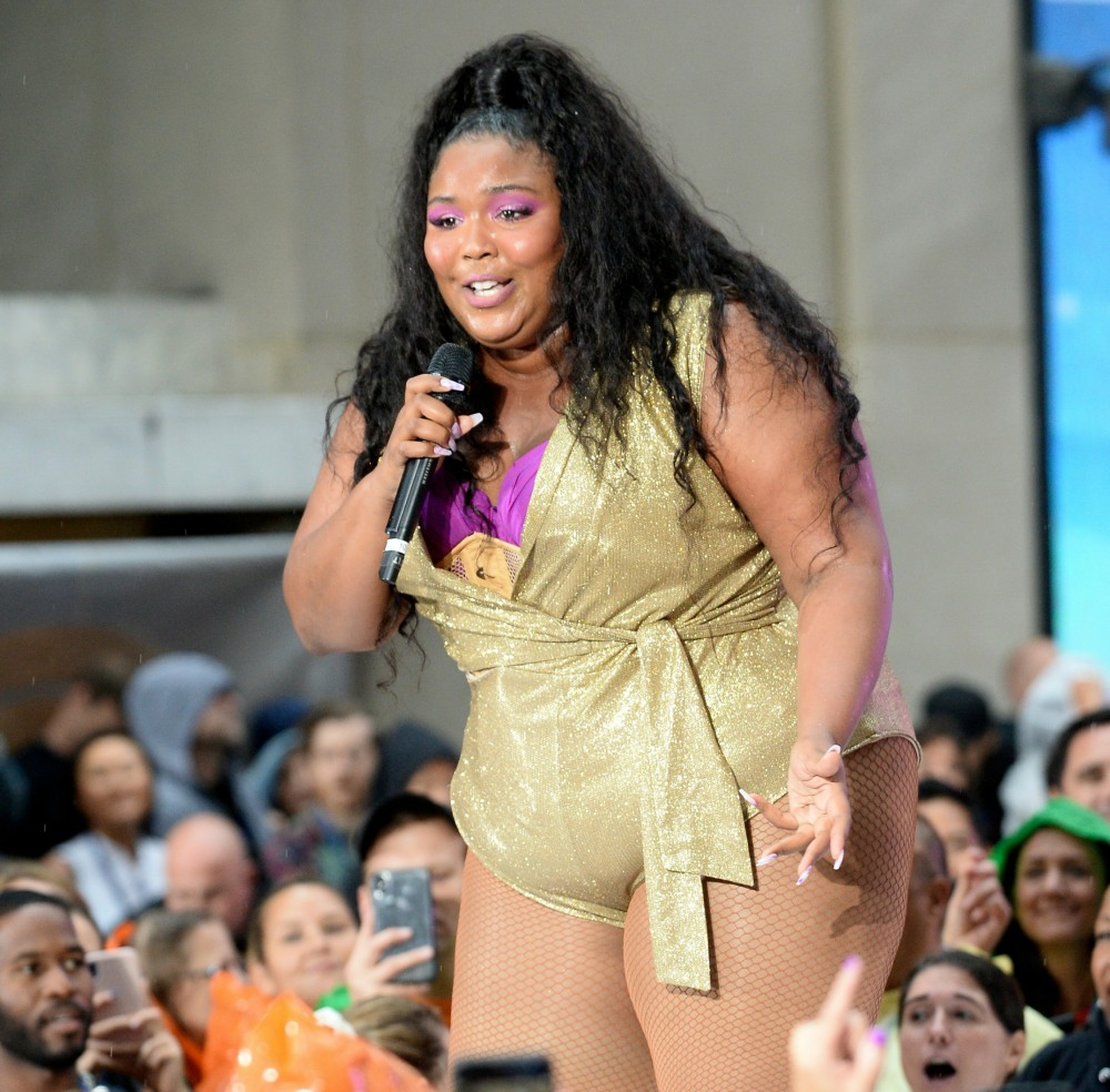 Lizzo on stage for Lizzo LIVE in Concert...