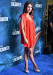 Hilaria Baldwin at the National Geographic Ocean Odyssey opening in New York