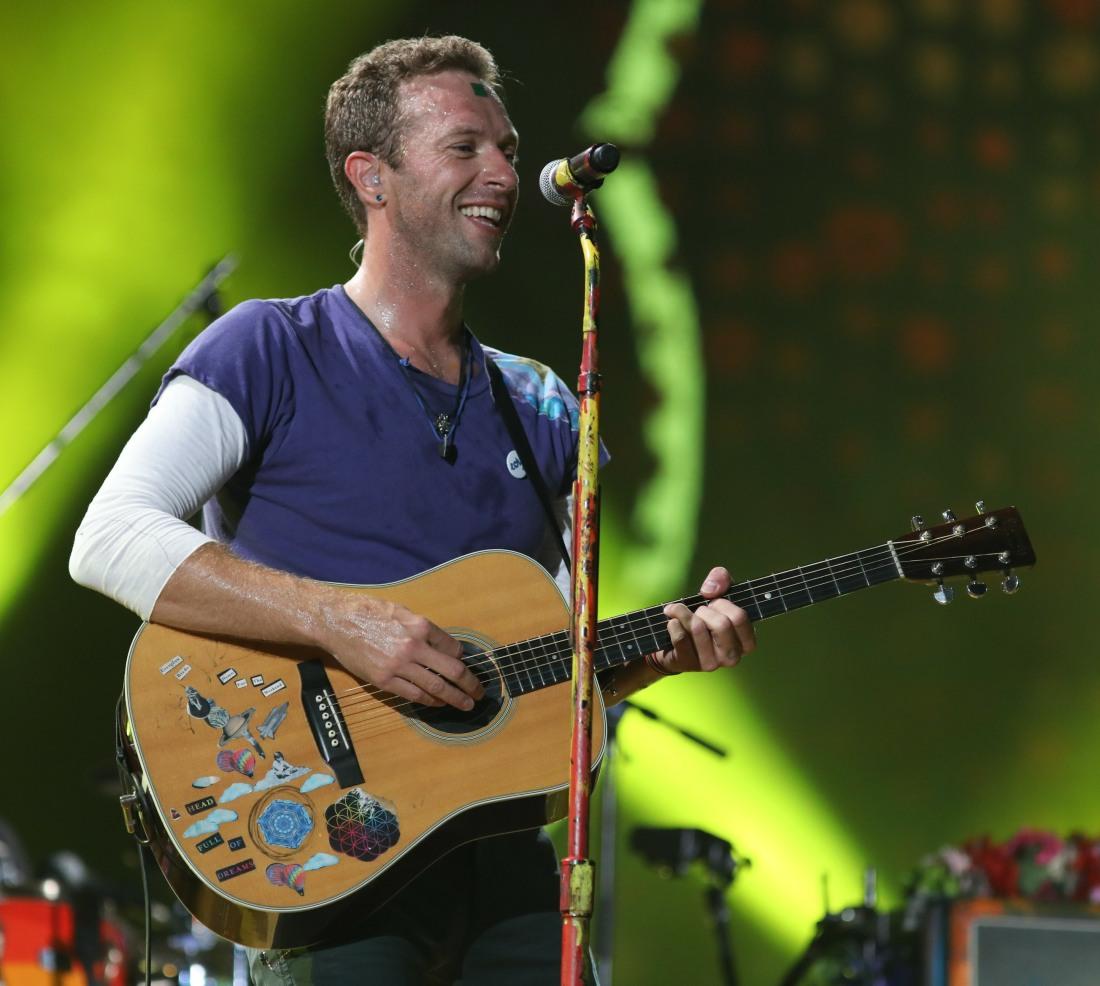 Coldplay gig Brazil