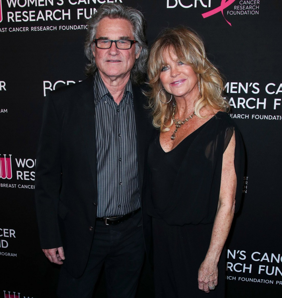 Actor Kurt Russell and partner/actress Goldie Hawn arrive at The Women's Cancer Research Fund's An Unforgettable Evening Benefit Gala 2019 held at the Beverly Wilshire Four Seasons Hotel on February 28, 2019 in Beverly Hills, Los Angeles, California, Unit