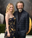 """Anna Lundberg, Michael Sheen at the Premiere of Universal Pictures' """"Dolittle"""" at Regency Village Theatre"""