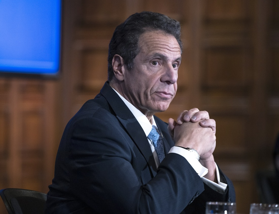 U.S. NEW YORK STATE CUOMO PARTIALLY REOPEN