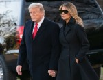 Trumps Depart to Spend the Christmas Holiday in Florida